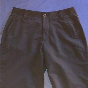 Under Armour Men's Black Golf Size 32 Shorts